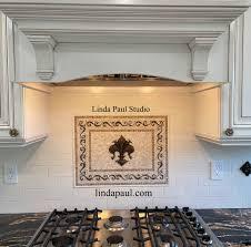 kitchen backsplash ideas 2020 for white cabinets fishing with picasso tile mural backsplash