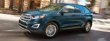 ford edge available exterior color options