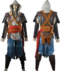unique halloween costumes assassin u0027s creed black flag edward kenway cosplay costume pirate
