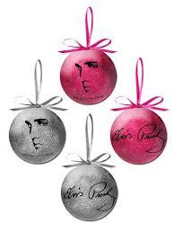 elvis profile ornament set graceland official store