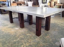 Round Concrete Patio Table Furniture Fabulous Round Concrete Outdoor Table Outdoor Concrete