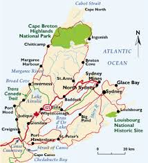 map canada east coast acadian map of cape breton acadian ancestral home