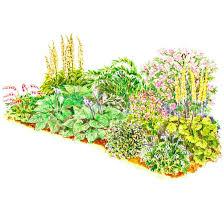 Garden Plans Zone - adorable shade garden plans also breathtaking shade garden design