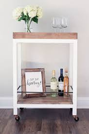 Free Woodworking Plans Diy Projects by Diy Bar Cart Diy Bar Cart Diy Bar And Free Woodworking Plans