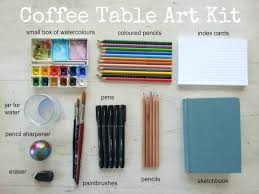 How To Make A Coffee Table by How To Create A Coffee Table Art Kit Tara Leaver