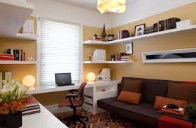 home library decorating ideas features beige carpet flooring and