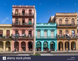 colorful building colorful buildings in old havana downtown street havana cuba