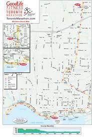 Toronto Canada Map by Run Towards The Good Life Toronto Marathon Docs This Weekend