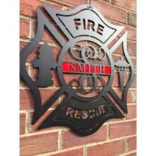Firefighter Home Decorations Home Decor U2013 House Sensations Metal Art