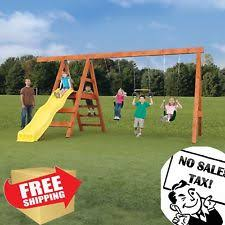 Kids Backyard Playground Outdoor Playground Ebay