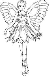 coloriage barbie dessin imprimer sur coloriages info