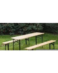 german beer garden table and bench bargains on outsunny 6ft wooden german style folding picnic beer