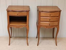 Oak Bedside Tables Bedside Tables Oak Country Rustic Provincial 18th Century The