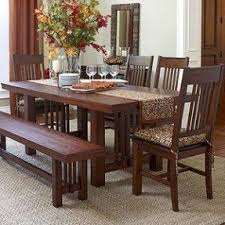 mission style dining room set craftsman style dining table foter