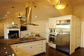 cathedral ceiling kitchen lighting ideas vaulted ceiling lighting solutions wooden wall shelves white