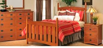 BEDROOM - Arts and craft bedroom furniture