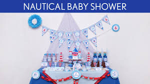 anchor baby shower ideas nautical baby shower party ideas nautical s5