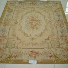 Chinese Aubusson Rugs Yilong Carpet Factory Can Supply Very Fine Quality Hand Knotted