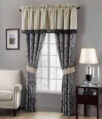 waterford sinclair distressed damask window treatments dillards