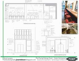 fast food restaurant floor plan