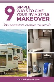 looking for ways to give your rv a new look check out these 9