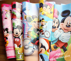 mickey wrapping paper free shipping wholesale 10pc gift wrapping paper wrapping