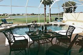 covered lanai cape haze winward 5 bedroom 4 bath gulf coast villa sleeps 10