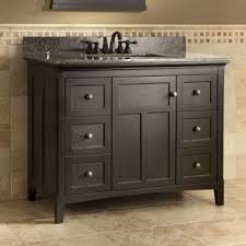 42 Inch White Bathroom Vanity by West Haven 42