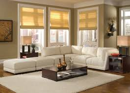 Living Rooms With Brown Leather Furniture Fancy Decorating Living Room With Sectional Sofa With Dark Brown