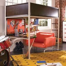 bed discount teen nick u0027 u0027the studio u0027 u0027 loft bed by nickelodeon