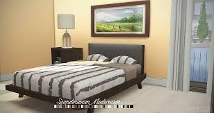 Scandinavian Bed Frames Josef And Scandinavian Bed Frames Onyx Sims