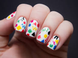 kindergarten doodles chalkboard nails nail art blog