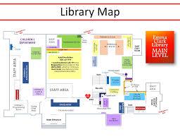floor plans emma s clark memorial library
