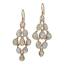 Rose Gold Chandelier Earrings Chandelier Earrings Sushilla Jewellery