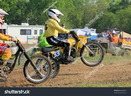 vintage motocross races jefferson tx apr 17 robert sabatini stock photo 89668897