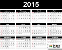 2015 calendar template vector free 123freevectors
