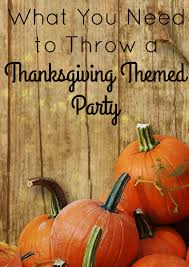 must thanksgiving supplies