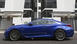 lexus rcf singapore lexus rc f bears little resemblance to its siblings motoring news
