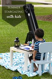 stargazing with kids in your own backyard