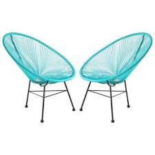 Overstock Patio Chairs Acapulco Woven Basket Lounge Chair Overstock Shopping The