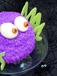 Spider Halloween Cake by Bird On A Cake Harry The Spider