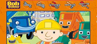 bob builder kids websites