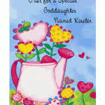 goddaughter birthday cards special goddaughter greeting card happy