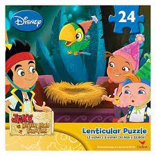 lenticular 24pc jake neverland pirates jigsaw puzzle