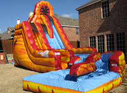 water slides dallas the best water slide rentals in dallas tx