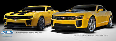 camaro modified the history of bumblebee and camaro