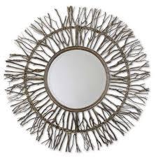 Uttermost Mirror Uttermost Josiah Round Wall Mirror Um 13705 Shine Mirrors