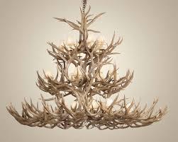 large deer antler lamps how to make furniture decor trend