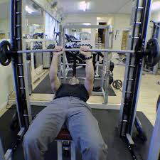 smiths machine tricep bench press go exercise
