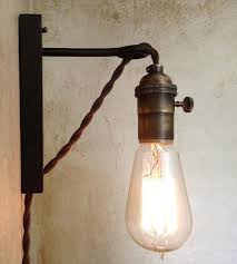Edison Bulb Wall Sconce Corded Wall Sconce Best 25 Lamps With Cord Ideas On Pinterest Lamp